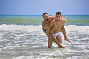 Gay Guys On Beach