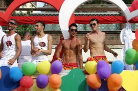 Gay Men On Float